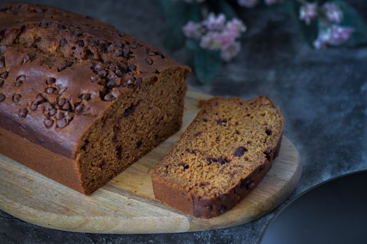 Chocolate Gingerbread Loaf Cake 2