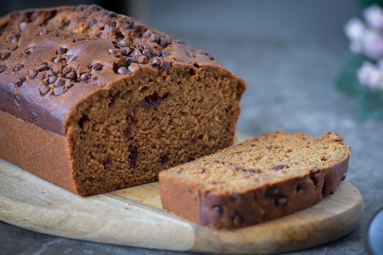 Chocolate Gingerbread Loaf Cake 1