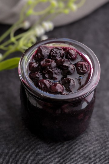 Fresh Blueberry Compote 1