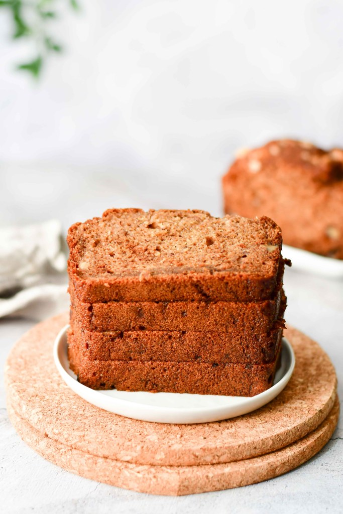 Healthy Banana Nut Bread 3