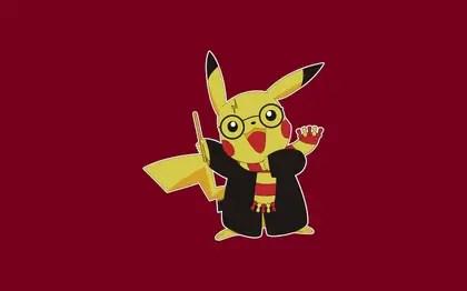 pokemon pikachu harry potter 1280x800 wallpaper_www.wallpaperno.com_70