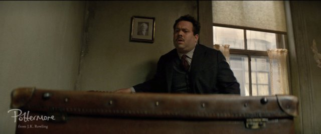 acob Kowalski (Dan Fogler) si apre accidentalmente la valigia di Newt.