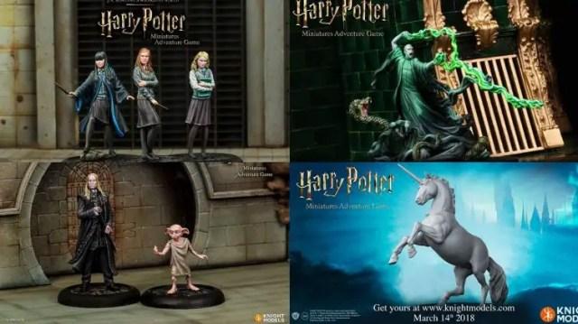 nuovo gioco miniature HP knight models
