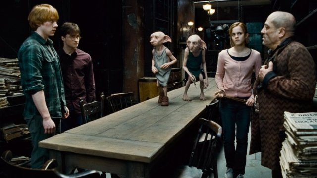 Gli elfi domestici Dobby e Kreacher