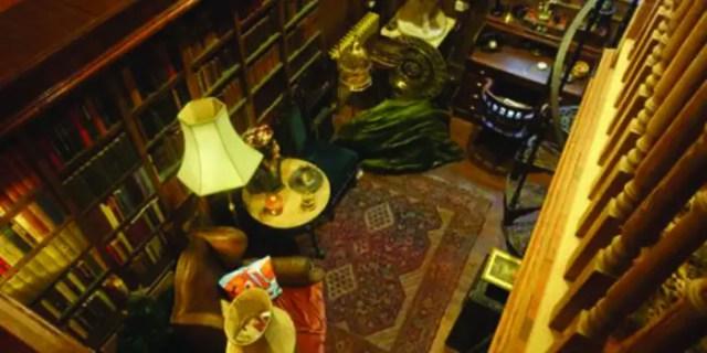 Casa sala lettura