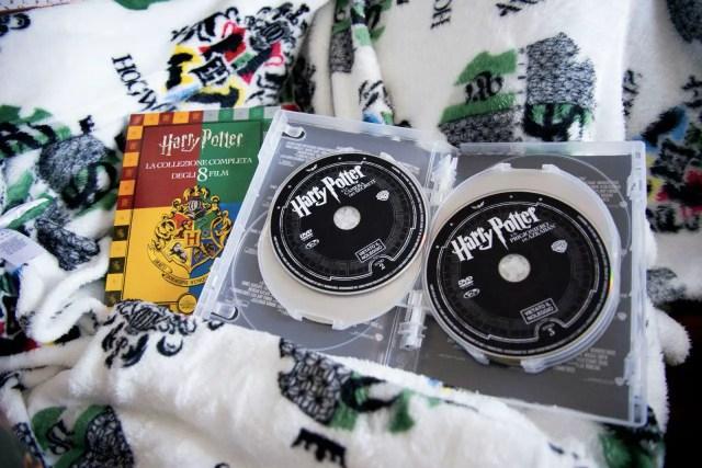 Gli otto DVD compresi nel cofanetto