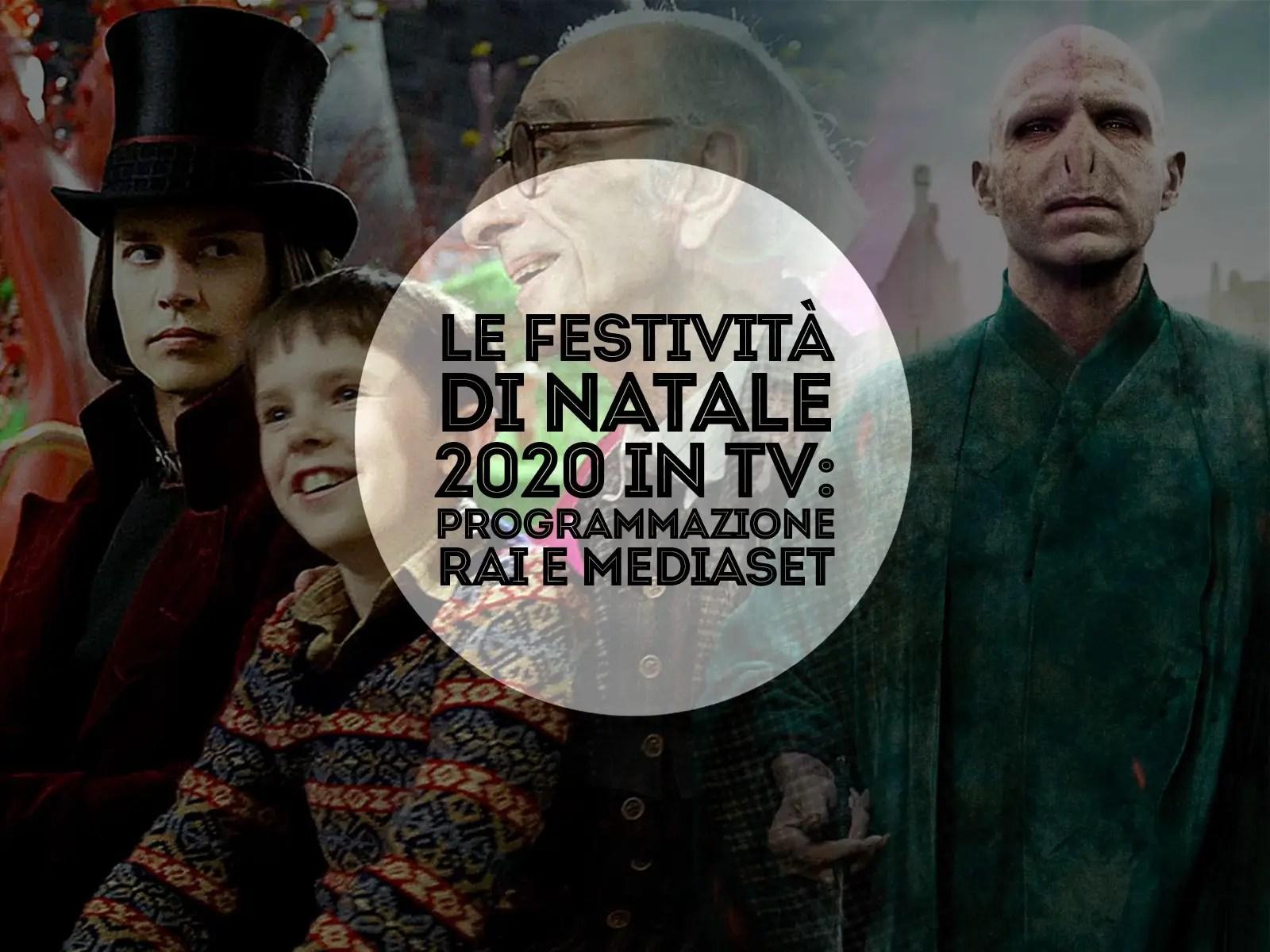 Programmazione feste di natale 2020