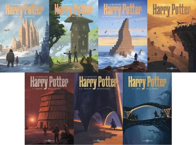 Harry Potter, nuova copertina