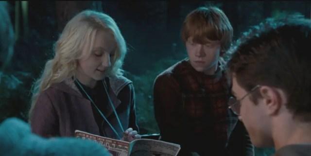 Evanna e Rupert
