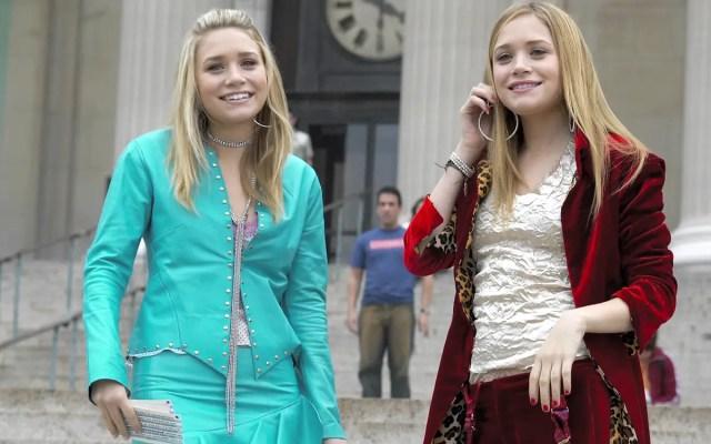 """Le gemelle Olsen sul set di """"Una pazza giornata a New York"""""""