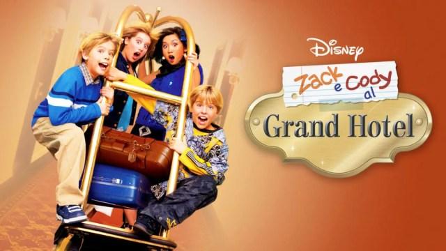 """Locandina di """"Zack e Cody al Grand Hotel"""""""