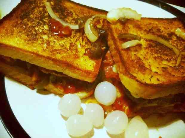 Toastburger Rezept eatfire.de