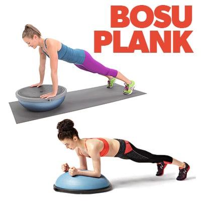 BOSU-Plank
