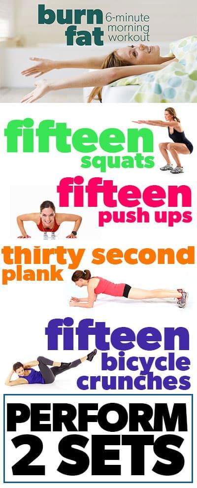 burn-fat-morning-workout-inforgraphic