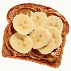 toast and bananas