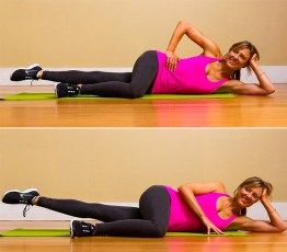This Pilates move will help tighten and tone your inner thighs.