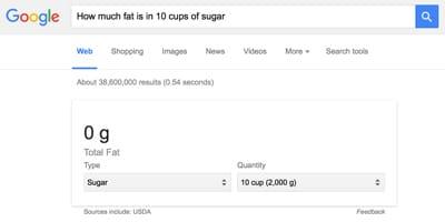 how-much-fat-10-cups-sugar