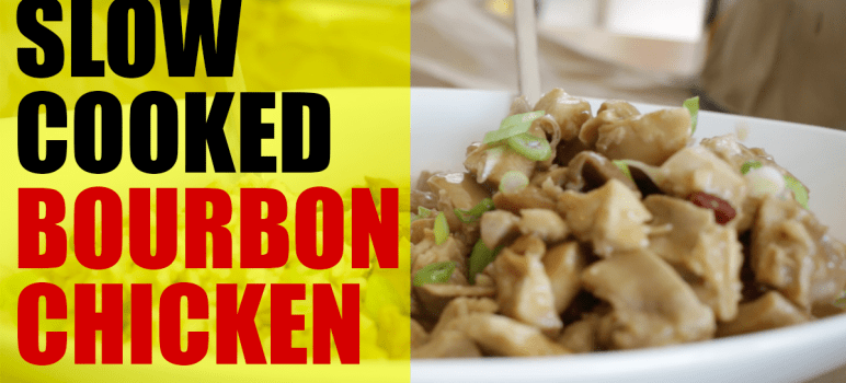 bourbon chicken thighs in slow cooker