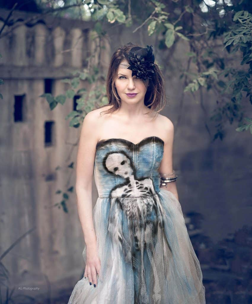 Костюмированный праздник Хэллоуин Eat-fly-dress by Yuliah Vine