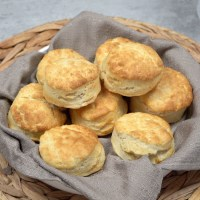Air Fryer Homemade Biscuits