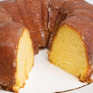 Order Cake Online - Rum Bundt Cake