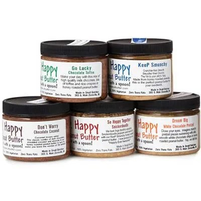 Mail order peanut butter gifts