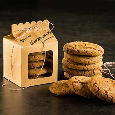 Order Cookies online for delivery - Bacon Fat Ginger Cookies