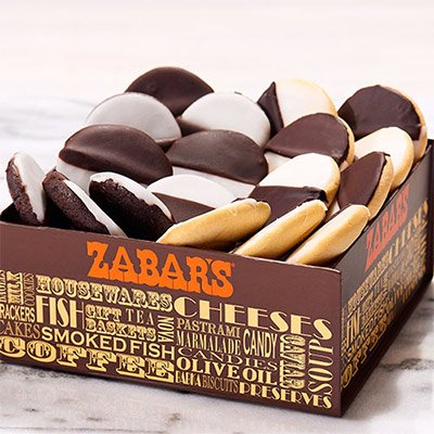 Best mail order Italian Cookies Online - Black and White Cookie Gift Basket