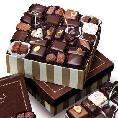 LA Burdick Assorted Gourmet Chocolate Gift Boxes of Bon Bons