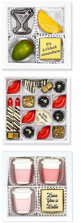 Whimsical Gourmet Chocolate Gifts by Maggie Louise Confections