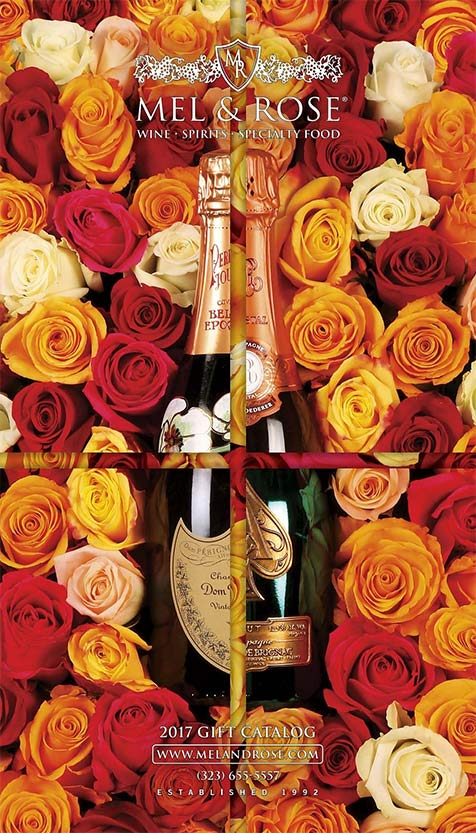 Wine Gift Baskets from Mel & Rose in Los Angeles