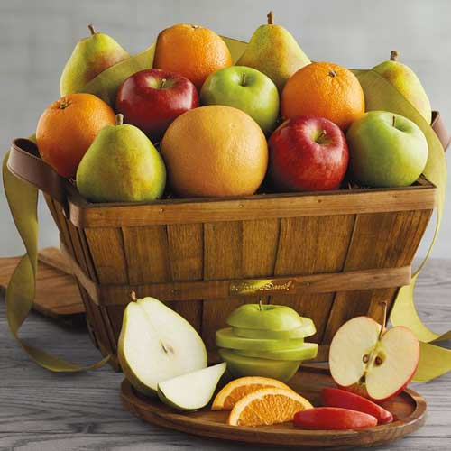 Organic Fruit Baskets Delivered from Harry & David