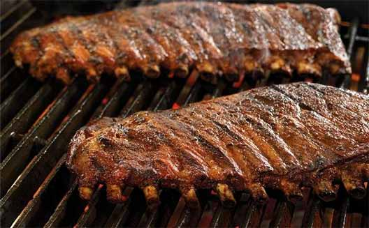 Mail Order Meat Online, Duroc Pork Spare Ribs from Creekstone Farms