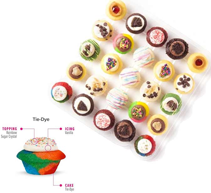 Cupcakes, best food gifts on Amazon