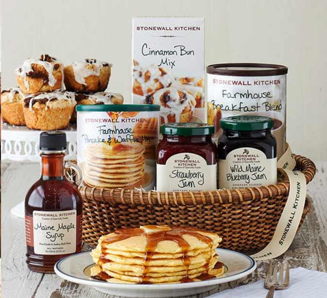 Best Food Gift Basket on Amazon, Farmhouse Breakfast basket
