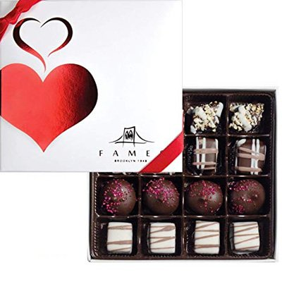 Gourmet Gift Box of Chocolate Gifts Available on Amazon -Fames Kosher Assorted Chocolates