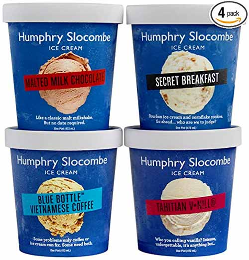 Gourmet Ice Cream by Humphrey Slocombe available on Amazon