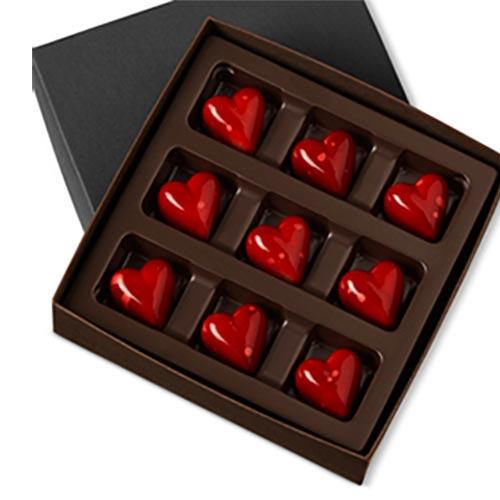 Dark Chocolate Valentine Day Box of Chocolates available on Amazon