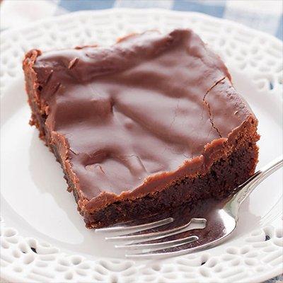 Fudge Iced Brownie to order online