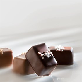 Gourmet Chocolate salted caramels from Fran's Chocolates