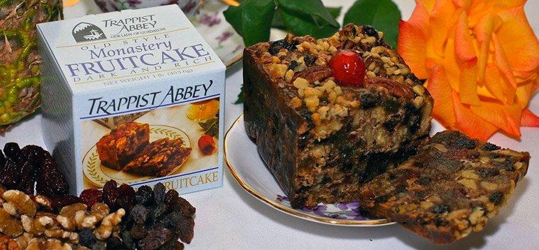 Trappist Abbey Monastery Dark Fruitcake