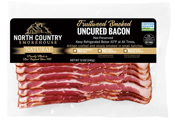 uncured bacon from North Country Smokehouse