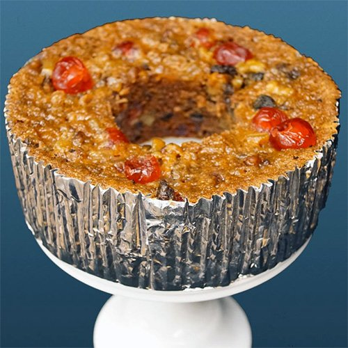 Traditional Fruitcake ring made by Assumption Abbey