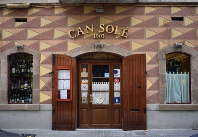 Can Solé, cocina marinera desde 1903
