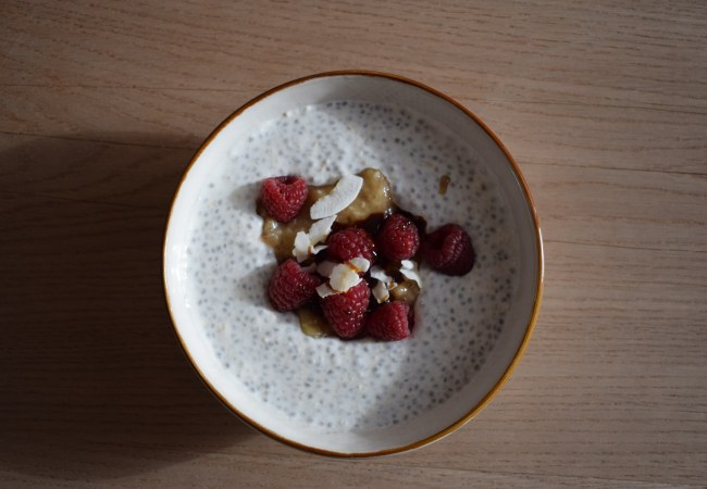 Overnight Chia Pudding, el bowl más healthy