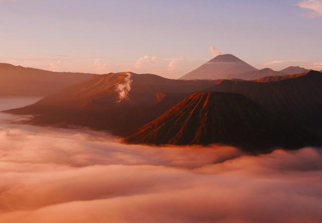 East Java, ascensión a los volcanes Bromo e Ijen