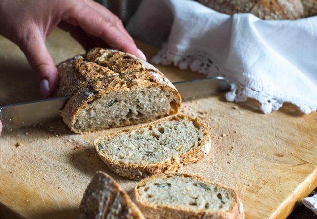 Pan de molde fácil y sano, sin levadura ni amasado