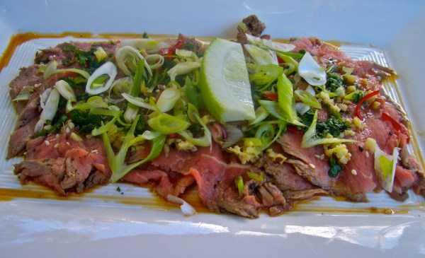 The most wonderful beef tataki