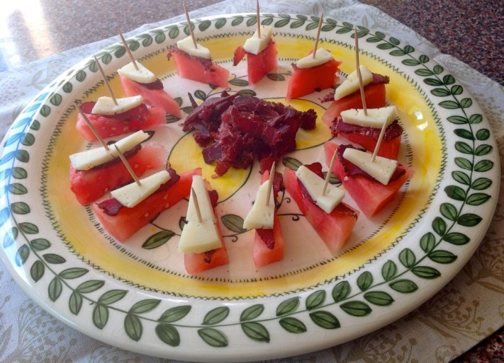 Lovely summer snacks that you guests will love