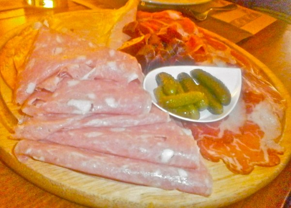 A wide range of Italian meats to delight